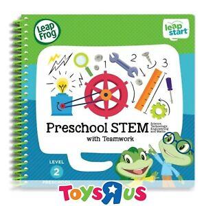 LeapFrog Level 2 LeapStart Book - Preschool STEM with Teamwork