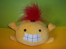 """FlingSmash 7"""" Yellow Plush Stuffed Animal Toy Fling Smash Wii Nintendo Red GUC"""
