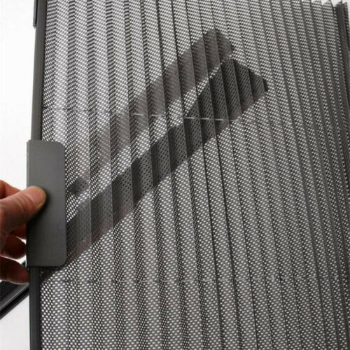 Retractable Black Car Side Window Curtain Sunshade Sun Visor Cover UV Protection