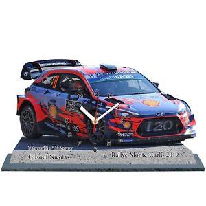 NEUVILLE-Rallye-Monte-Carlo-2019-Hyundai-i20-WRC-en-horloge-miniature-01