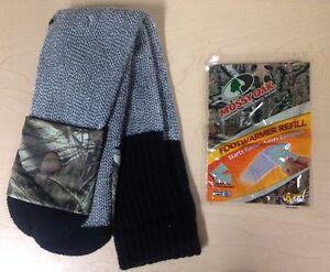 Heat-Factory-Acrylic-Blend-Pocket-Heated-Socks-with-Foot-Toe-Warmer-Last-6-hours