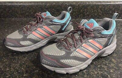 Corte informal tobillo  Adidas Adiprene Running Shoes Women's 7 US Mesh Silver Teal Peach PYV  702001 | eBay