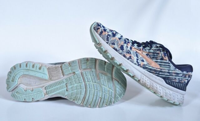 Navy/coral/ice Athletic Running Shoes