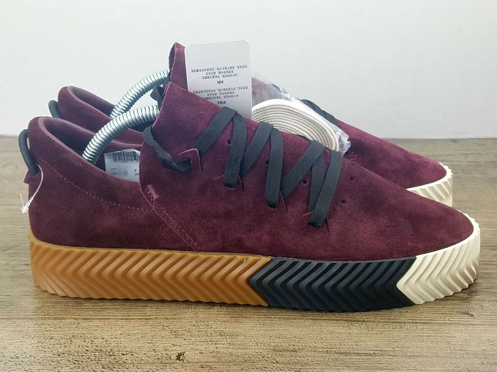 Adidas by8909 originali alexander wang x - skate maroon gomma by8909 Adidas noi sz 5 - 43ed0f