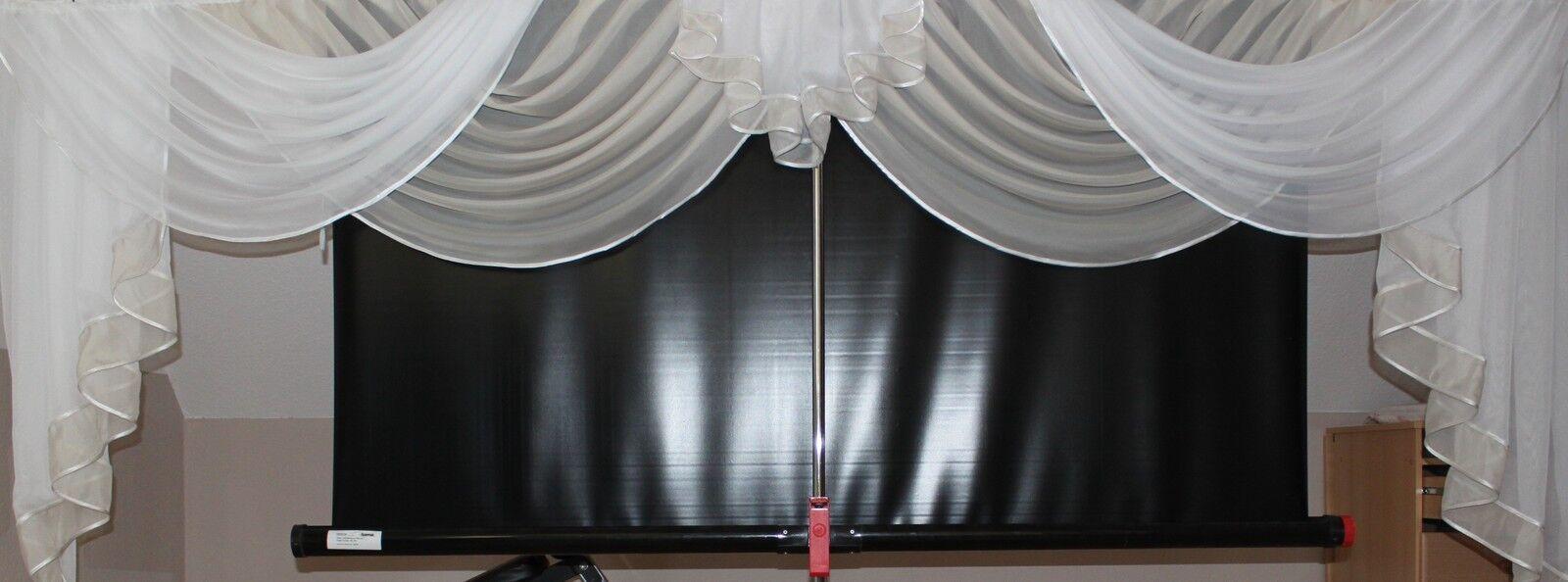 Deko - Gardine, Store, Vorhang in der Farbe champagner     weiss cd9ad8