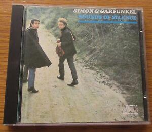 SIMON-amp-GARFUNKEL-Sounds-Of-Silence-1980-039-s-EURO-PRESSING-CD-NO-BARCODE-CBS-62690