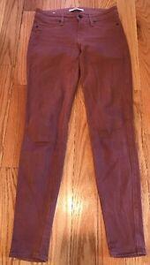 strati Lavaggio da Jeans vivaci Inseam skinny e colori 27 a donna a Taglia Pantaloni 29 7Ydw67