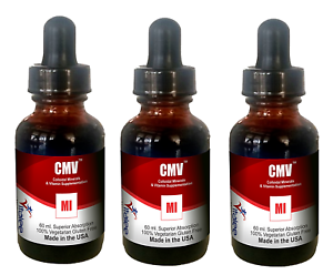 CMV-Multi-purpose colloidal ionic minerals/vitamins supplement (1 bottle 60 ml)