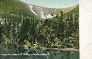 WHITE-MOUNTAINS-NH-Tuckerman-Ravine-Mt-Washington-Over-Hermit-Lake