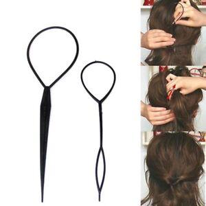Set-of-2-Pcs-Fashion-Topsy-Tail-Hair-Braid-Pony-Tail-Maker-Styling-Tool-Salon