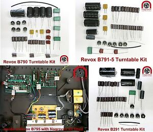 Revox-B290-B291-B790-B791-B795-Turntable-Overhaul-Kit