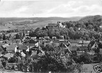 AK, Kranichfeld Ilm, Teilansicht mit Niederburg, 1966