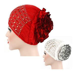 Women-Elastic-Flower-Hat-Turban-Chemo-Cancer-Hair-Loss-Cap-Head-Wrap-Cap