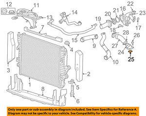 details about jaguar oem 04 09 xj8 4 2l v8 radiator intake pipe seal nca2269ca jaguar v8 supercharged jaguar xk8 engine main seal diagram