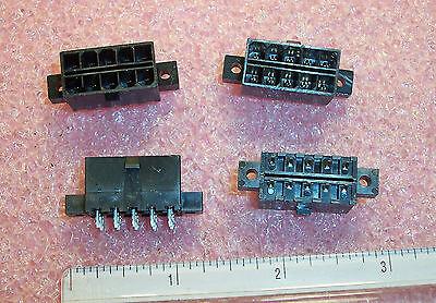 QTY (20) 15-97-7104  MOLEX 10 POSITION DUAL ROW POWER HEADER W/ EARS 4.2mm