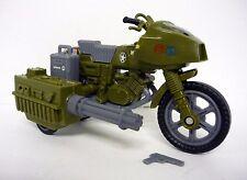 GI JOE RAM CYCLE 25th Anniversary Action Figure Vehicle Motorcycle COMPLETE 2008