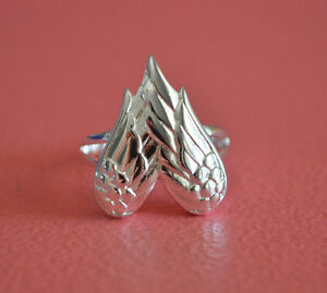 925-Sterling-Silver-Angel-Wings-Ring-Band-Big-Angel-Wings-Ring-Jewelry-NEW