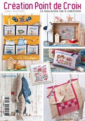 French cross stitch magazine Creation point de croix No.83 ...
