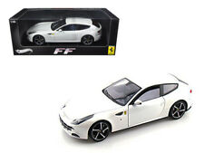 Hot Wheels W1119 Ferrari FF V12 4 Seater Pearl White Elite Edition 1/18 Diecast