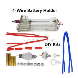 5A-10A-4-Draht-Batteriehalter-Widerstand-Kapazitaet-Tester-26650-18650-AA-AAA