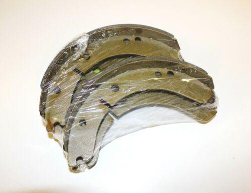 SET OF 4 FRONT OR REAR BRAKE SHOES MGA 1500