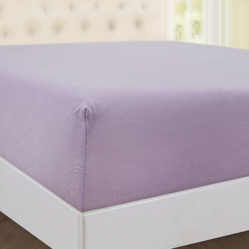100/% Cotton Extra Deep 30 cm Jersey Fitted Sheets Breathable Hypo allergenic