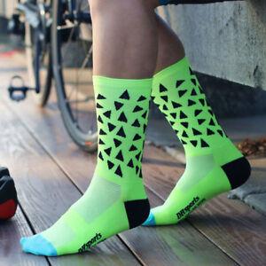 Eg-Triangolo-Outdoor-Sport-Ciclismo-Corsa-Traspirante-Anti-odore-Calze-Unisex