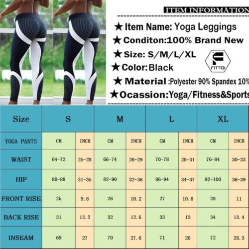 Women Training Leggings Ladies Gym Sportswear Yoga Pants Running Fitness Trouser