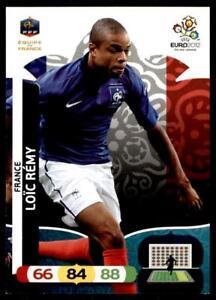 Panini-euro-2012-ADRENALYN-XL-Francia-Loic-Remy-tarjeta-base