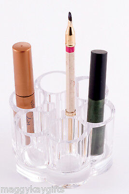 Crystal Clear Acrylic Lipstick - Make-up holder - Bathroom - Bedroom storage