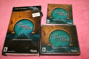 Riddle of the Sphinx II: The Omega Stone  (PC, 2003)