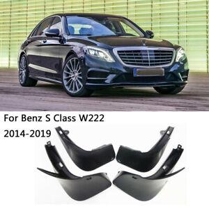 OEM Set Splash Guards Mud Guards Flaps For 2014-2019 Mercedes Benz S Class W222