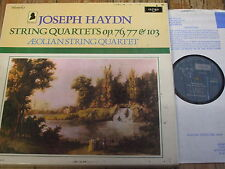 HDNP 57-60 Haydn String Quartets Vol. 10 / Aeolian Quartet 3 LP box