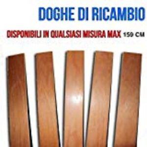 DOGA DOGHE DI RICAMBIO MATRIMONIALI -TUTTE LE MISURE-LARGHEZZA 6.8 cm FAGGIO