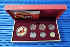 2014-Singapore-Blissful-Horse-Medallion-2014-Third-Series-Uncirculated-Coin-Set