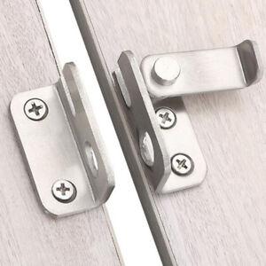 Travel Hotel Door Lock Latch Anti-theft Punching Free Door Hasp Security Lock