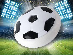Kids Light Up DEL clignotants Hover Balle Pro, en mousse souple avec GLIDE BASE, football  </span>