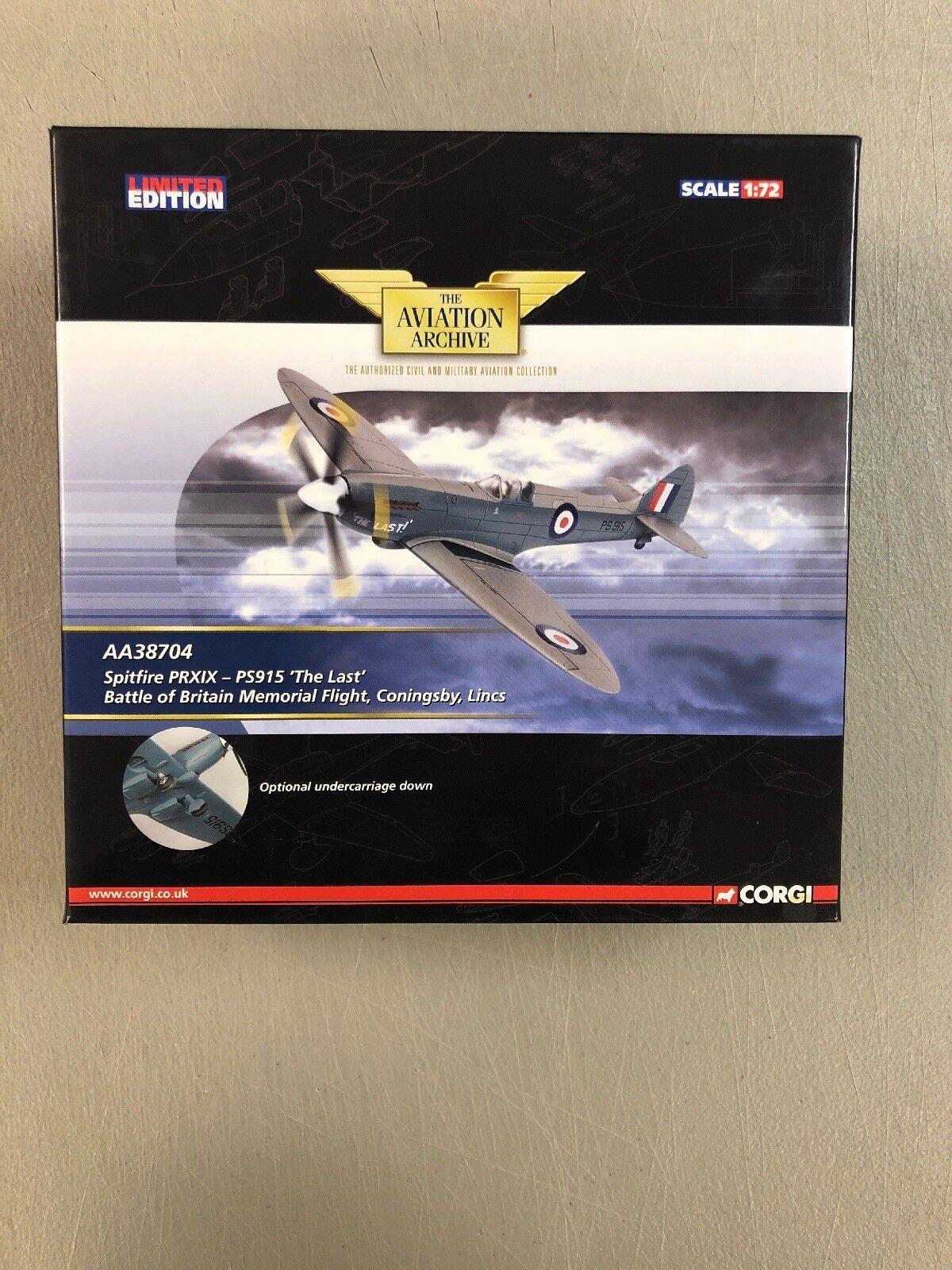 1 72 Spitfire PRXIX-PS915  le dernier  Battle of Britain Memorial Flight