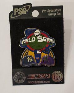 2001 Arizona Diamondbacks vs New York Yankees MLB Baseball World Series PSG Pin