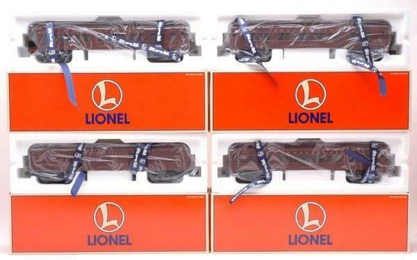 LIONEL- 29003- FOUR CAR PENNSYLVANIA MADISON CAR SET -0 027- NEW- M1