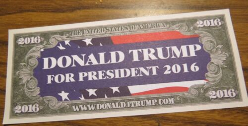 WHOLESALE LOT OF 20 DEPLORABLE AND PROUD OF IT TRUMP BUMPER STICKERS President $
