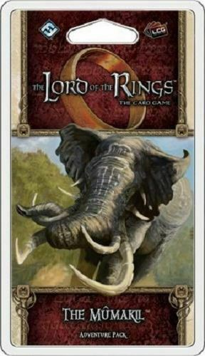 THE LORD OF THE RINGS THE CARD GAME THE MUMAKIL PACK