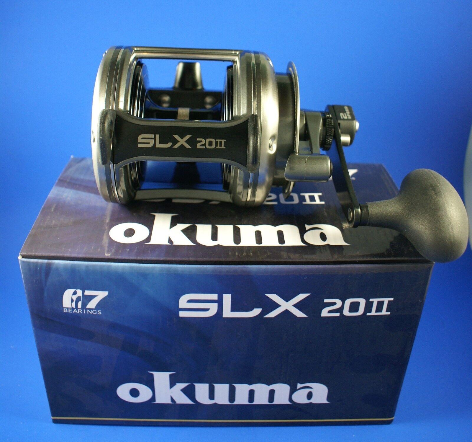 Okuma Solterra SLX-20II 2 Speed Lever Drag  Fishing Reel  hot