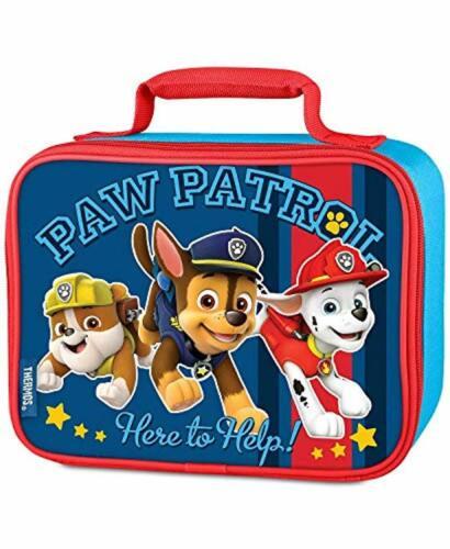 Paw Patrol Loncheras Soft déjeuner Kits thermos