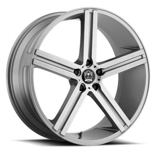 Qty of 1 MOTIV 418AB Melbourne 22X10.5 5X120 ET+35 Anthracite w// Brushed Face