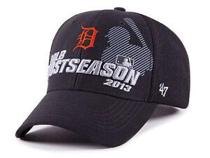 Details about Detroit Tigers 47 Brand 2013 MLB Baseball Adjustable Postseason  Cap Hat cebff334c49