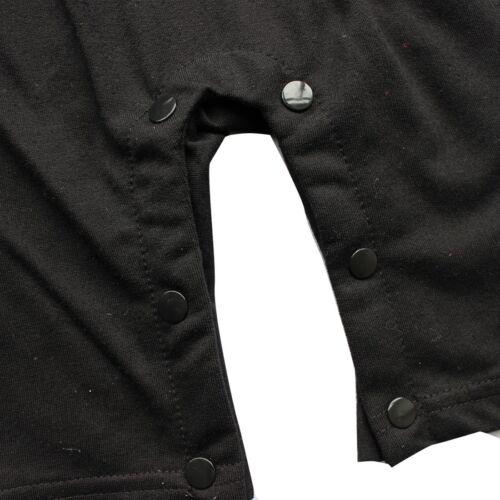 Baby Jungen 2tlg Bodysuit Tuxedo Spielanzug mit Coat Mantel Taufe Smoking Anzug