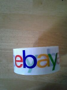 Branded BOPP Packaging Shipping Tape 75 Yards Per Roll Large Print BN
