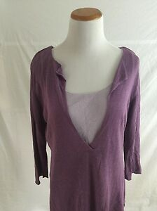 J-JILL-purple-linen-layered-sweater-Womens-MP