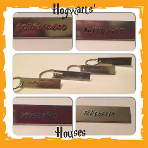 Handmade-Harry-Potter-Inspired-Hogwarts-Houses-Key-Chain-Fandom-Your-Choice